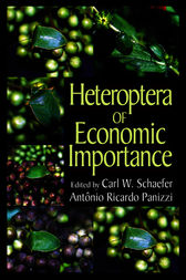 Heteroptera of Economic Importance by Carl W. Schaefer