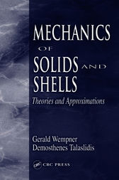 Mechanics of Solids and Shells by Gerald Wempner