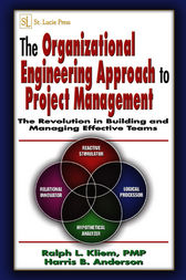 The Organizational Engineering Approach to Project Management by PMP Kliem