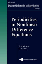 Periodicities in Nonlinear Difference Equations by E.A. Grove