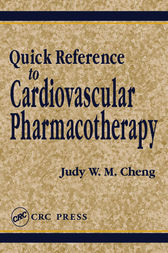 Quick Reference to Cardiovascular Pharmacotherapy by Judy W. M. Cheng