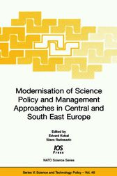 Modernisation of Science Policy and Management Approaches in Central and South East Europe by E. Kobal