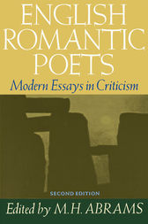 English Romantic Poets by M. H. Abrams