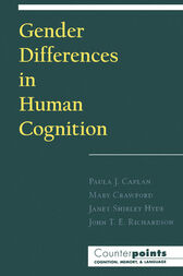 Gender Differences in Human Cognition by John T. E. Richardson