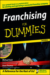 Franchising For Dummies by Michael H. Seid