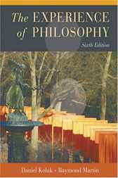 The Experience of Philosophy by Daniel Kolak