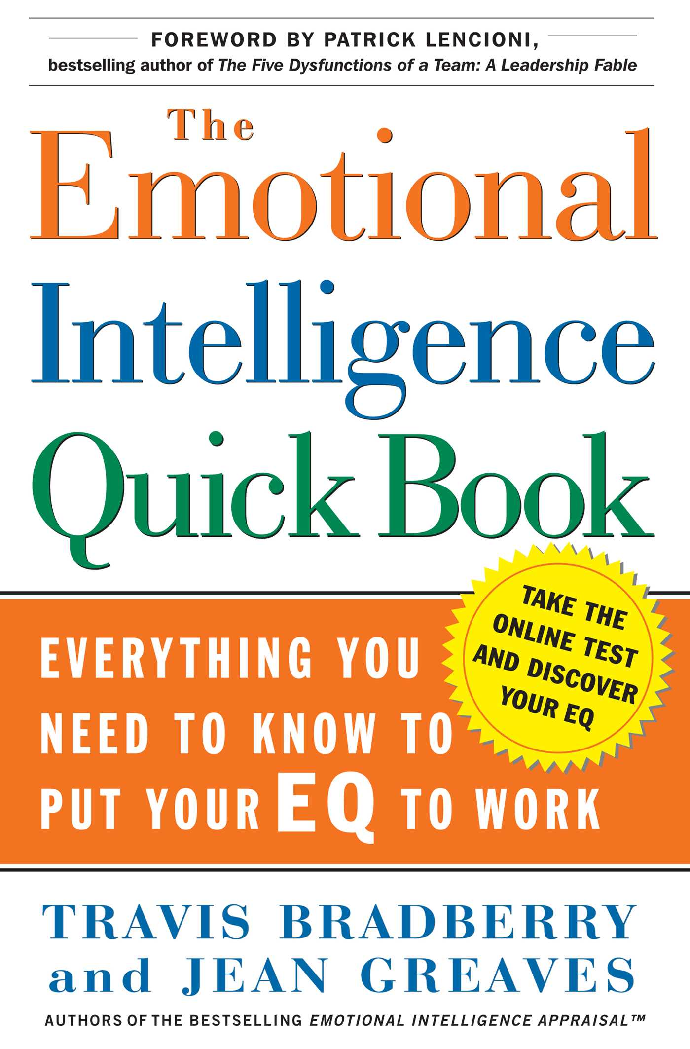 Download Ebook The Emotional Intelligence Quick Book by Travis Bradberry Pdf