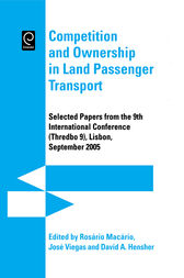 Competition and Ownership in Land Passenger Transport by Jose Manuel Viegas