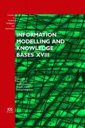 Information Modelling and Knowledge Bases XVIII by M. Duží