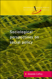 Reconceptualizing Social Policy by Amanda Coffey