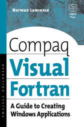 Compaq Visual Fortran by Norman Lawrence