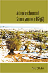Automorphic Forms And Shimura Varieties Of Pgsp(2) by Yuval Z Flicker