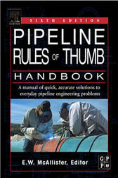Pipeline rule of thumb handbook fifth edition