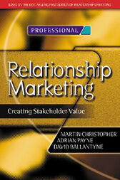 Relationship Marketing by Martin Christopher