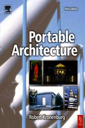 Portable Architecture by Robert Kronenburg