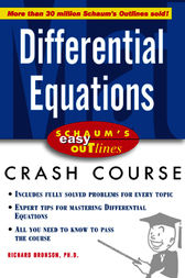 Schaum's Easy Outline of Differential Equations by Richard Bronson