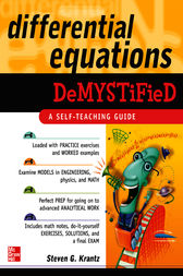 Differential Equations Demystified by Steven G. Krantz