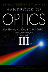 Handbook of Optics,  Volume III by Optical Society of America