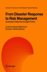 From Disaster Response to Risk Management by Linda C. Botterill