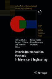 Domain Decomposition Methods in Science and Engineering by Ralf Kornhuber