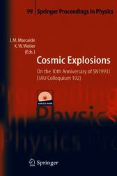 Cosmic Explosions: On the 10th Anniversary of SN1993J (IAU Colloquium 192)
