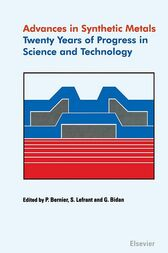 Advances in Synthetic Metals by P. Bernier