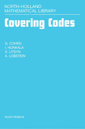 Covering Codes by G. Cohen