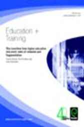 The Transition from Higher Education into Work - Tales of Cohesion and Fragmentation by Rick Holden