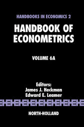 Handbook of Econometrics by James J. Heckman