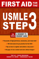 First Aid for the USMLE Step 3, Second Edition by Tao Le