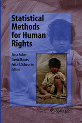 Statistical Methods for Human Rights by Jana Asher