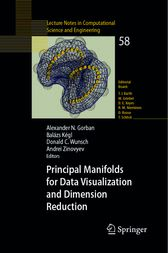 Principal Manifolds for Data Visualization and Dimension Reduction by Alexander N. Gorban