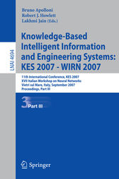 Knowledge-Based Intelligent Information and Engineering Systems by Bruno Apolloni