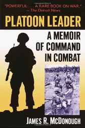 Platoon Leader by James R. McDonough