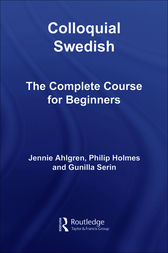 Colloquial Swedish by Jennie Ahlgren