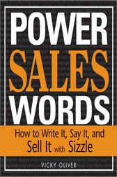 Power Sales Words by Vicky Oliver