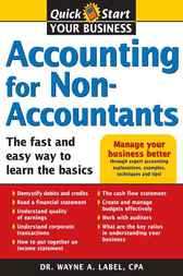 Accounting for Non-Accountants by Wayne Label