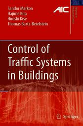 Control of Traffic Systems in Buildings by Sandor A. Markon