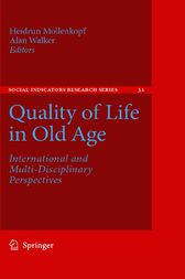 Quality of Life in Old Age by Heidrun Mollenkopf
