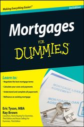 Mortgages For Dummies by Eric Tyson