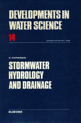 Stormwater Hydrology and Drainage by D. J. Stephenson