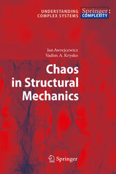 Chaos in Structural Mechanics by Jan Awrejcewicz