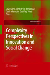 Complexity Perspectives in Innovation and Social Change by David Lane