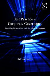 Best Practice in Corporate Governance by Adrian Davies