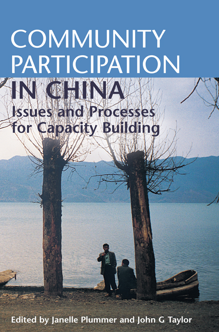 Download Ebook Community Participation in China by Janelle Plummer Pdf