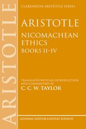 Aristotle: Nicomachean Ethics, Books II—IV: Translated with an introduction and commentary