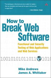 How to Break Web Software by Mike Andrews