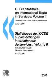 OECD Statistics on International Trade in Services 2008, 2 by OECD Publishing