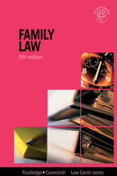 Family Lawcards 5/e by Routledge
