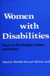 Women with Disabilities by Michelle Fine